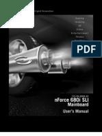 EVGA 680i SLI - 122-CK-NF68 Motherboard Manual