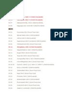 Fogathajtó versenynaptár 2013