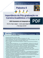 Prof Lindgren-Unitau-Palestra Importancia da Pos-graduacao nas Carreiras Academica e Executiva.pdf