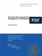 Transient Electromagnetic Wave