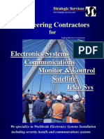 Electronics Systems Communications Monitor&Control Satellite Telco Sys