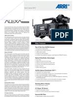 ALEXA Studio Data Sheet