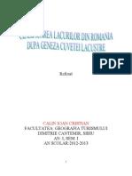 Clasificarea Lacurilor Din Romania Dupa Geneza Cuvetei Lacustre