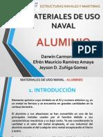 Trabajo 1 - Materiales de USO NAVAL - Aluminio