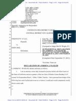 12-08333 Declaration by Waxler Doc98