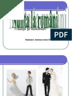 Nunta Romaneasca Andreea Ionela Stanciu