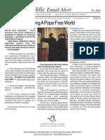 404 - ITCCS Celebrating a Pope Free World