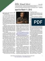 419 - Benjamin Fulford Report for March 11, 2013