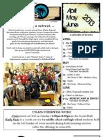 AprMayJune2013 Newsletter