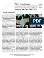 430 - 'Scientific Assassinations' Are Part of the CIA's Modus Operandi