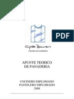 Teórico Panadería 2008 . CD . PD