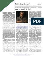 434 - Benjamin Fulford Report for March 19, 2013