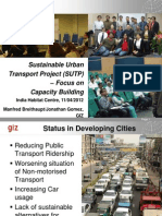 Sustainable Urban Transport Project