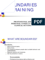 Boundaries Training With Notes