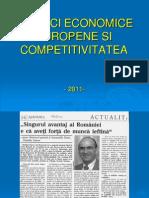 Politici Economice Europene Si Competitivitatea