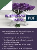 Interpretasi Dan TatLak