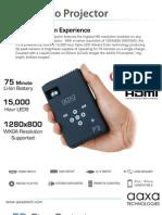 AAXA P3 Brochure