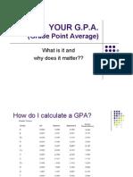 GPA Lesson