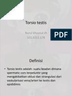 2. b Torsio Testis
