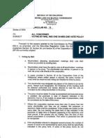 SEC Memorandum Circular No. 4, dated March 17, 2004