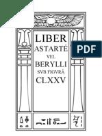 Liber 175 - Astarte Vel Liber Berylli
