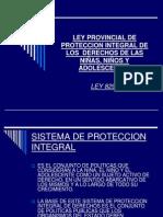 Ley 8293 Proteccion Integral de Derechos Provincia Tucuman
