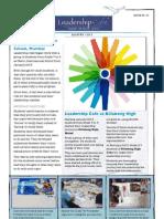 Leadership Cafe JFM 2013 Newsletter