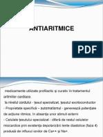 Antiaritmice Curs