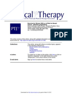 PHYS THER--Exercise Breast Cancer and Lymphedema1398-405
