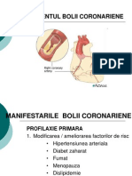Angina pectorala,infarct miocardic