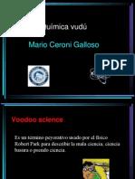 Quimica vudu  Congreso Peruano de Química 2012