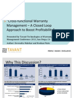 Wcm2011cross Functionalwarrantymanagement Aclosedloopapproachtoboostprofitability Ss 120215055704 Phpapp02