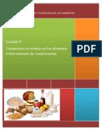 UNIDAD IV-METODOS NO TERMICOS PARA CONSERVAR ALIMENTOS.docx