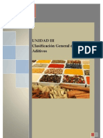 UNIDAD III - CLASIFICACION DE LOS ADITIVOS ALIMENTARIOS.docx