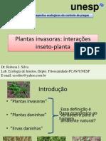 Planta invasoras_Interações inseto-planta