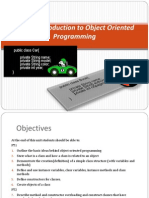 Unit 1 Intro to Object Oriented Programming PT1
