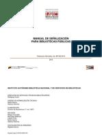 manual señaletico biblioteca venezuela