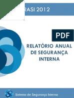 sistema de segurança interna 2013_relatório anual de segurança interna 2012