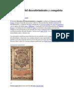 Literatura del descubrimiento y conquista del Perú