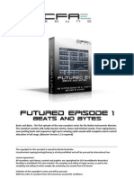 Futured Episode 1 - Beats and Bytes ReadMe