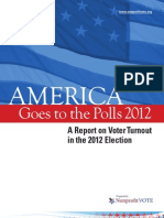 2012 Report on Voter Turnout