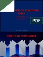 DIREITO DE VIZINHANÇA