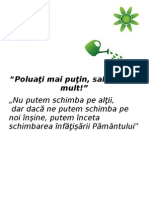 Afis poluare