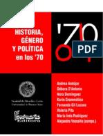 Andújar, Andrea et al (comps) - Historia, género y política en los 70.pdf