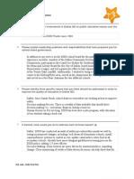 Nancy Bingham DKF Questionnaire Responses
