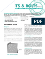 NHML Newsletter-040101 Ductile & Brittle Fracture