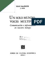 Sean MacBride - Un solo mundo, voces multiples.pdf