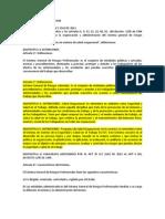 Para Exposicion Ley 1562 de 2012