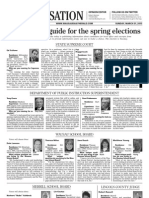 2013 Voters' Guide Page 1