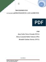 Manual de Procedimientos Laboratorio Alimentos